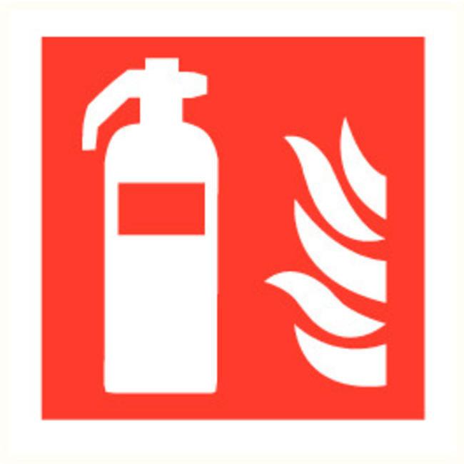 Brandbeveiligingshop Voordeelpakket poederbrandblusser 6kg intern patroon met pictogram en muurbeugel