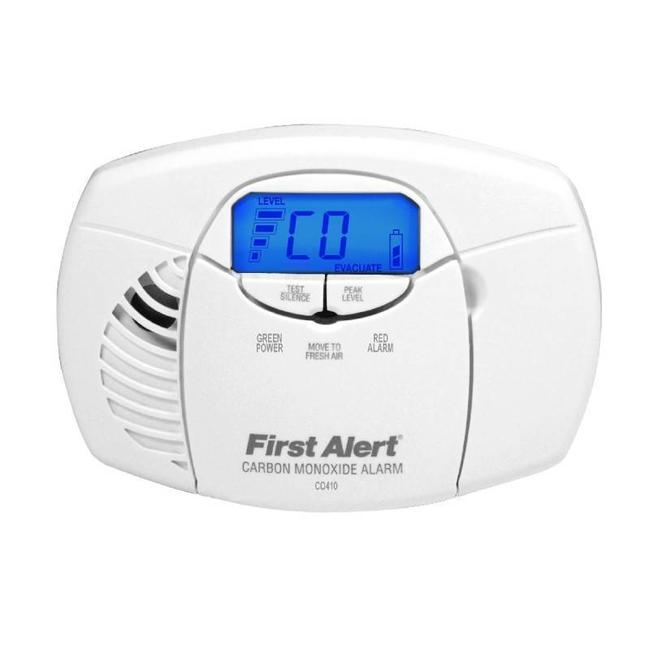 First Alert First Alert CO410CE-EN CO-melder met digitaal scherm