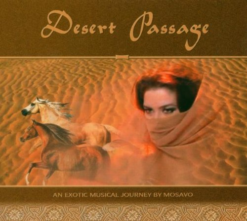 Belly dance CD Desert Passage by Ibrahim Hassan