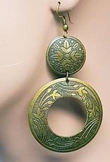 Sakkara Ohrringe im orientalischen Design