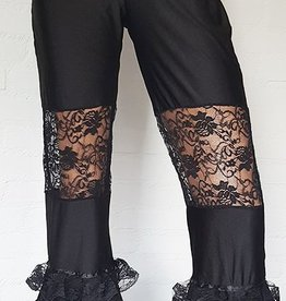Tribal fusion pants with lace