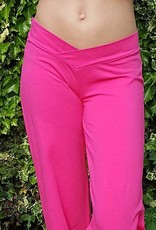 Belly dance pants in fuchsia pink