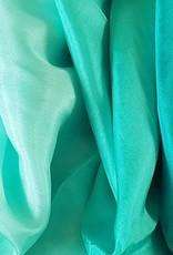 Sehr schöne Schleier in pfauengrün Farbverlauf