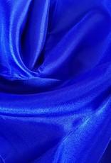 Silk belly dance veil cornflower blue