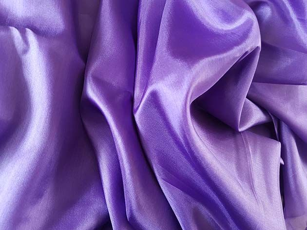 Belly dance silk veil lavender