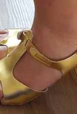 Afro shoes in gold Size 42/43