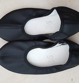 Sakkara Tanzschläppchen in schwarz - 36