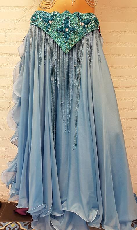 Kostüm Dalal in türkis