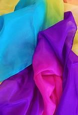 Silk belly dance veil Lissome
