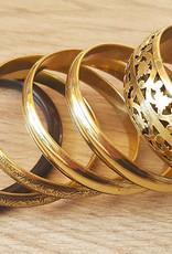 Armreifset in der Farbstellung gold/schwarz