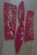 Sakkara Amira - Einteiler mit separatem BH in hellrot