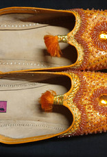 Arabische Schläppchen in orange, türkis oder rosa
