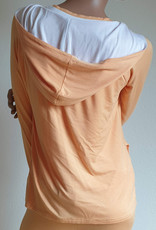 Yoga Hoodie-Jacke Kalyani peach