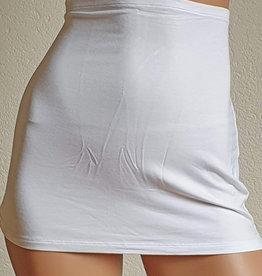 Yoga kidney warmer white