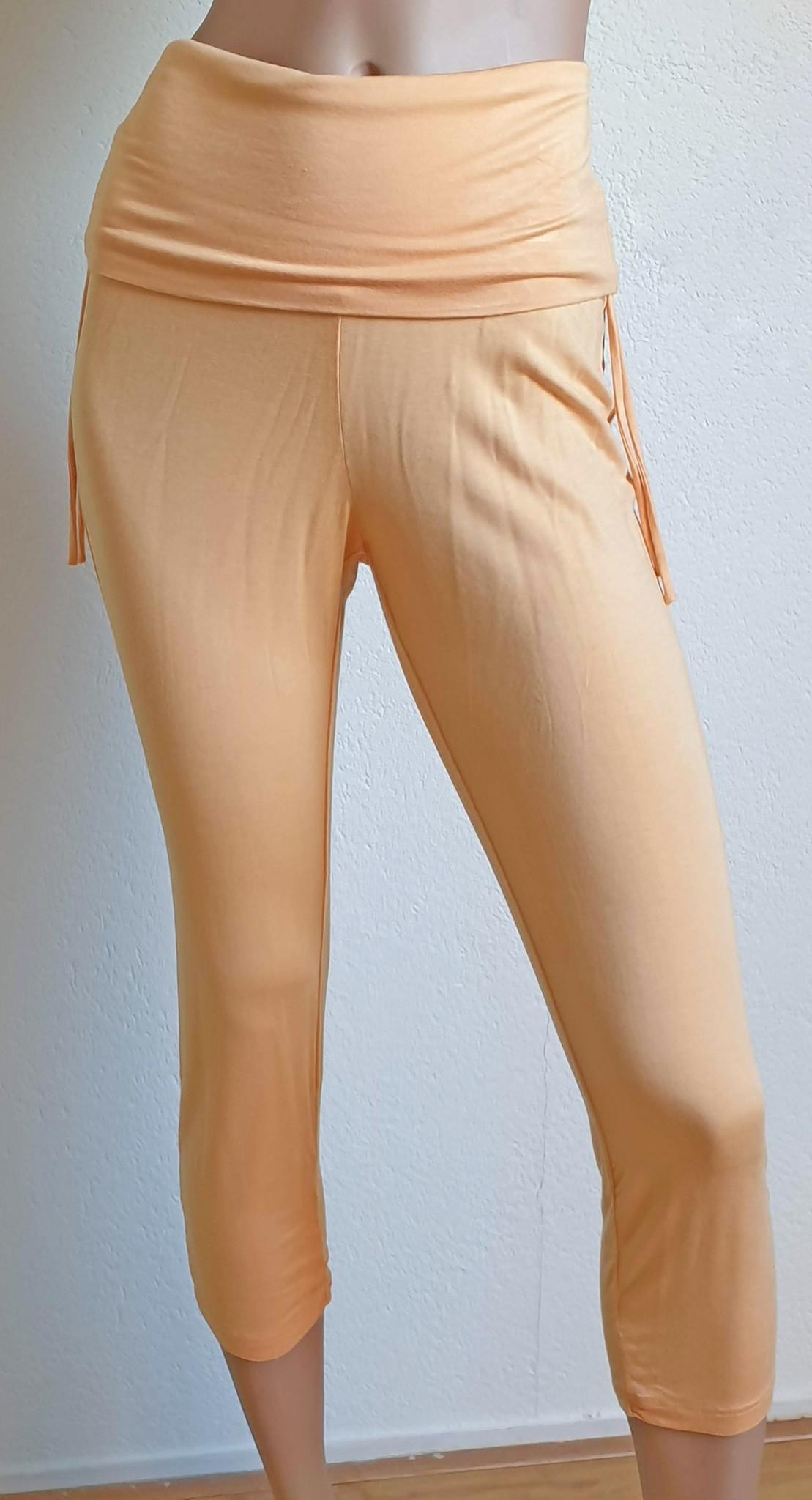 3/4 Yoga pants peach
