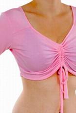 Bauchfreies Trainingstop rosa