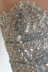 Belly dance Costume Dalal in silver