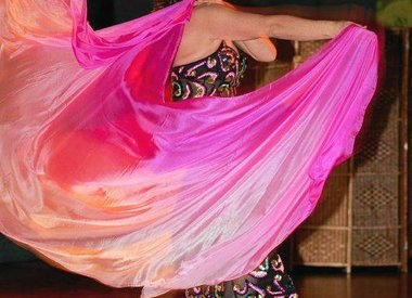 Belly dance veils