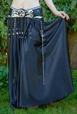 Satinrock in schwarz