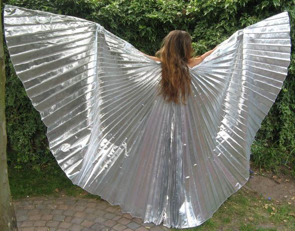 Isis wings in silver