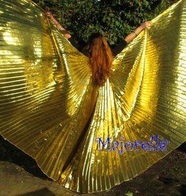 Isis wings in gold