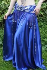 Bauchtanz-Kostüm 'Yasmine' in blau