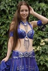 "Jewelry blue for costume ""Yasmine"""
