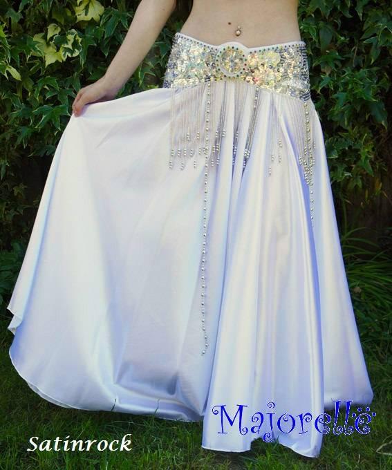 "Belly dance costume ""Selena"" in white"
