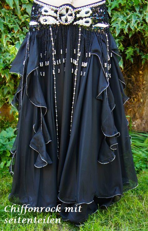 """Belly dance costume """"Jamila """" in black"""