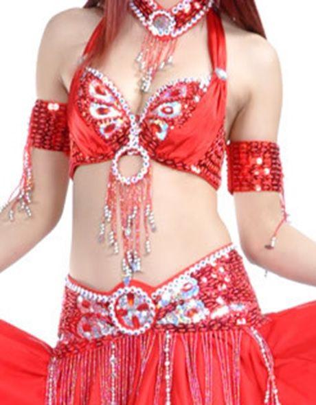 Schmuck rot für Kostüm Malika