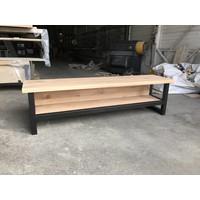 TV-meubel Hout & Staal Eiken