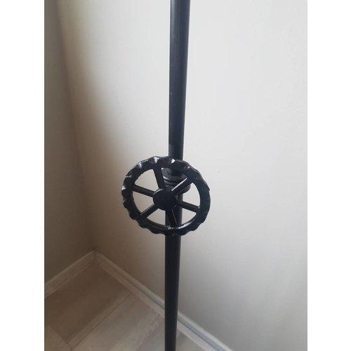Vloerlamp wiel