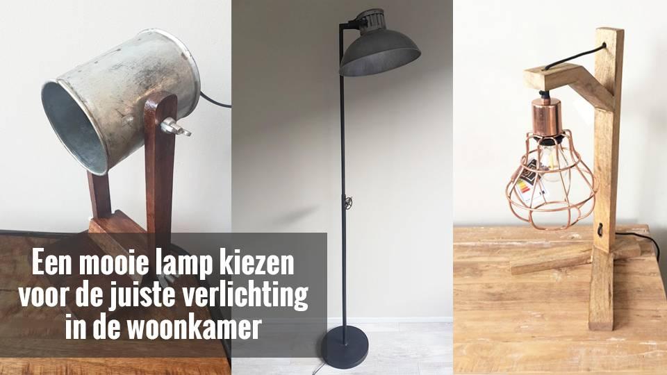 Verlichting In Woonkamer : Een mooie lamp kiezen voor de juiste verlichting in de