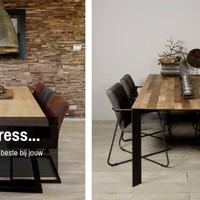 Eettafel stress: Welke eettafel past het beste bij jouw interieur?