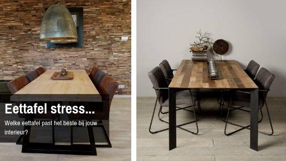 Eettafel Extra Lang.Kies De Eettafel Die Past Bij Jouw Interieur Firma Hout Staal