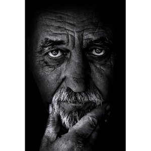 Very old man