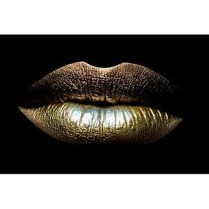 Closeup of sexual lips