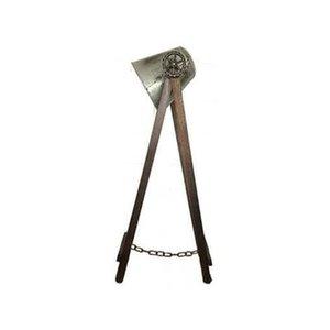 Vloerlamp staal XL