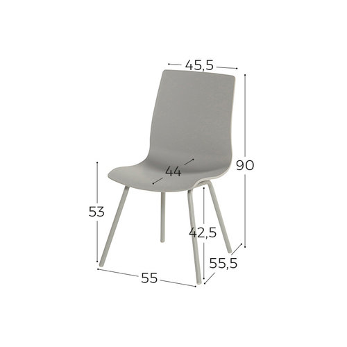 Hartman Sophie Rondo Wave Dining Chair