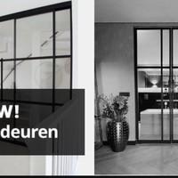 Nieuw: Stalen deuren bij Firma Hout en Staal!