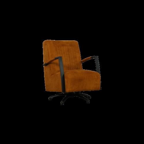 Draaibare fauteuil Vara - geheel naar wens samen te stellen
