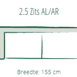 Bank Stan 2,5-zits AL/AR