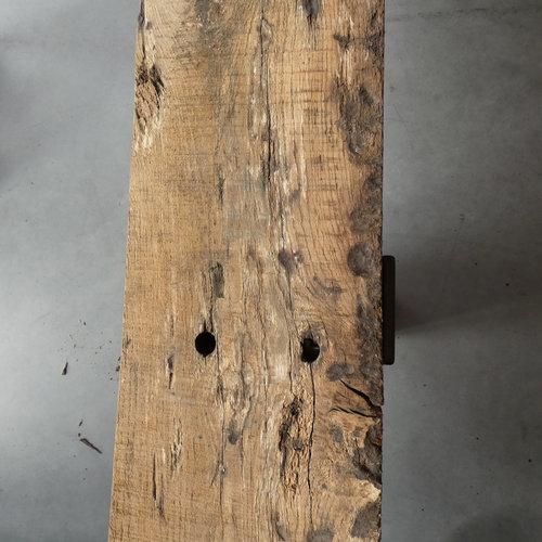 TV-meubel oude balk enkel