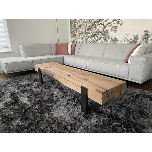 TV-meubel oude balk dubbel
