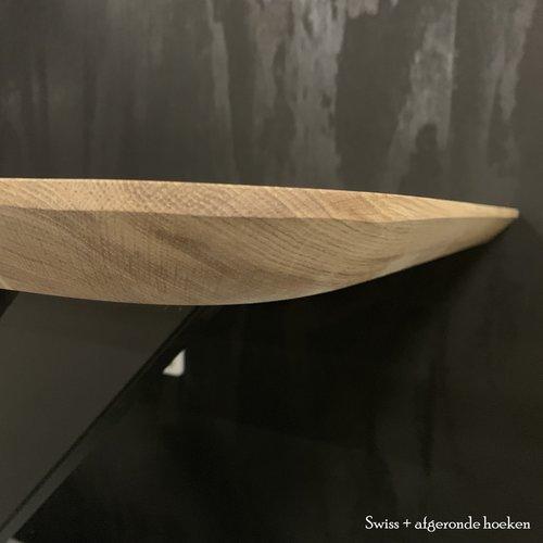 Black design tafel - kies je eigen randafwerking!