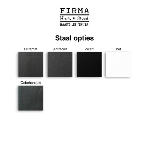 Eettafel U-frame 87 x 220 cm  gebruikt steigerhout grey wash 27