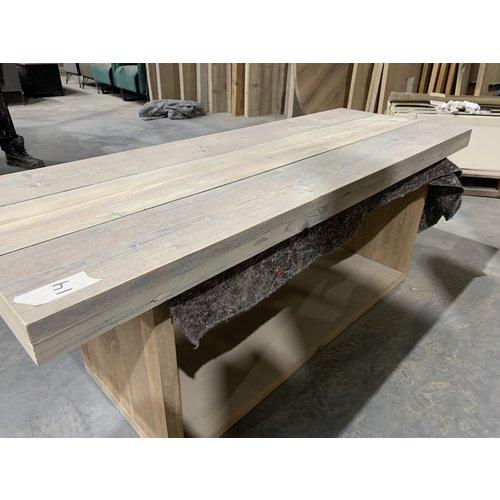 Losse bladen gebruikt steigerhout 170 en 160 x 58 cm cm Tv-meubel hoog-laag 13/14