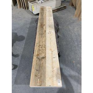 Los blad bankje 240x38 cm steigerhout 19