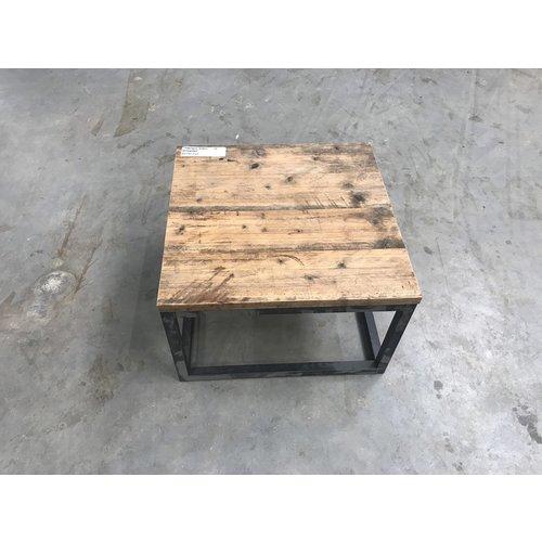 Salontafel kubus steigerhout 16 - 63 x 63 x 40