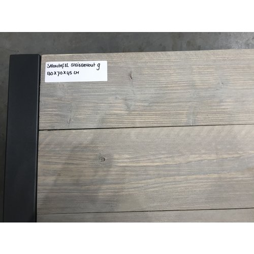 Salontafel steigerhout 9 -130 x 70 x 45